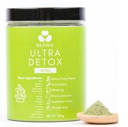 Beanie Australian Ultra Detox Powder Formula D (240g)
