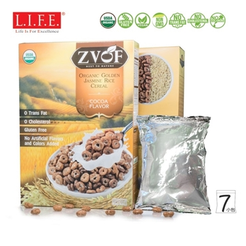 Picture of Organic Golden Jasmine Rice Cereal (Cocoa)