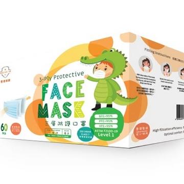 圖片 Procare HK 兒童三層防護口罩 ASTM Level 1 (60個)