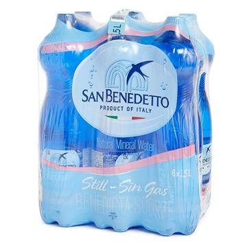图片 San Benedetto 圣碧涛意大利天然矿泉水 (无汽) 1.5公升 6支