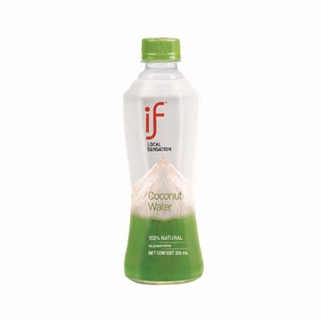 Picture of iF Coconut Water 350ml 24 Bottles
