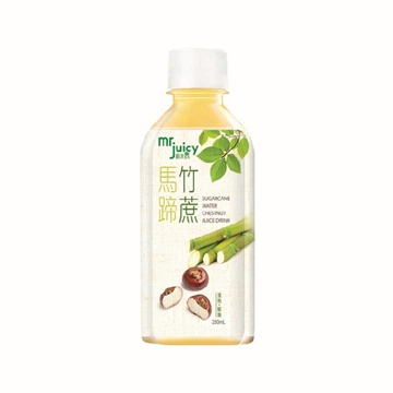 Picture of Mr. Juicy Dessert Drink Sugarcane Water Chestnut 250ml 48pcs