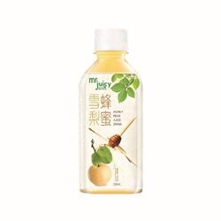 Mr. Juicy 菓汁先生滋潤系列 蜂蜜雪梨 250毫升 48支