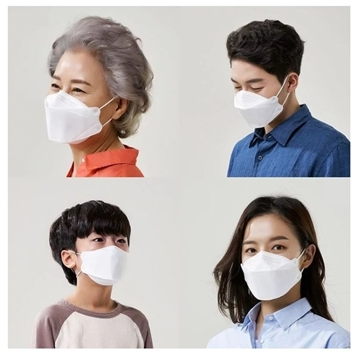 Picture of O2 Wear Korea KF94 Three-dimensional 4-layer Face Mask (Adult/Kid 50pcs) (Free Delivery)