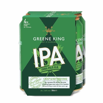 Picture of Greene King India Pale Ale 500 ml 4 Cans x 6 Packs
