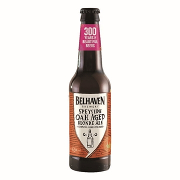 Picture of Belhaven Speyside Oak Aged Blonde Ale 330ml 12 Bottles