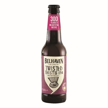Picture of Belhaven Twisted Thistle IPA 330ml 12 Bottles