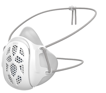 Picture of Gill Face Mask (FDA approved) (Adult) (White 1pc)