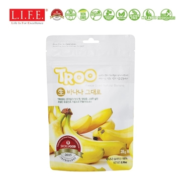Picture of Troo Korean Natural Freeze-dried Fruit (Banana) 28g
