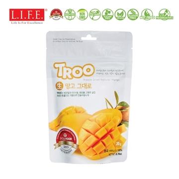 图片 Troo 韩国天然冷冻干果零食(芒果) 20g