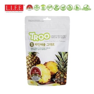 图片 Troo 韩国天然冷冻干果零食(菠萝) 25g