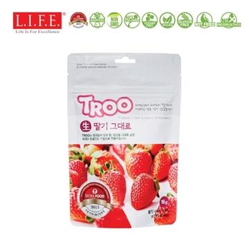 图片 Troo 韩国天然冷冻干果零食(草莓) 16g