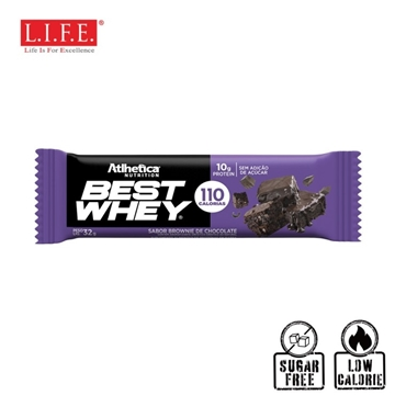 Picture of Atlhetica Sugar-Free High Protein Bar (Brownie Chocolate)32g
