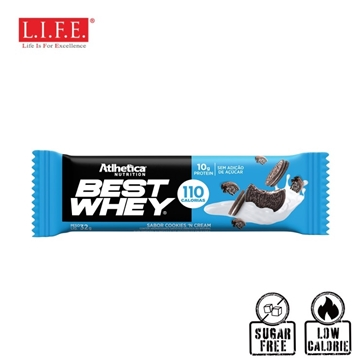 Picture of Atlhetica Sugar-Free High Protein Bar (Cookies & Cream)32g