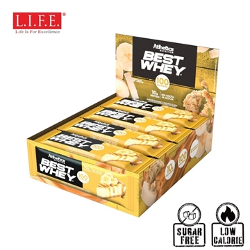Picture of Atlhetica Sugar-Free High Protein Bar(Caramelized Banana)12 pcs/box