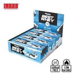 Atlhetica Sugar-Free High Protein Bar(Cookies & Cream)12 pcs/box