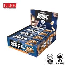 Atlhetica Sugar-Free High Protein Bar(Peanut & Caramel)12 pcs/box