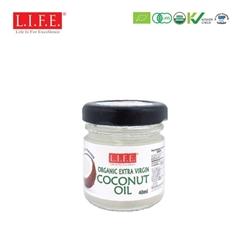 F&B Extra Virgin Organic Coconut Oil 40ml