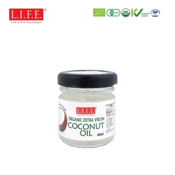 Picture of F&B Extra Virgin Organic Coconut Oil 40ml