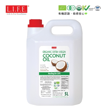 Picture of F&B Extra Virgin Organic Coconut Oil 5L