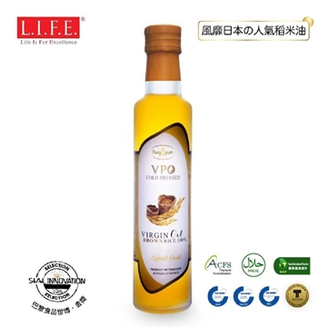 Picture of Virgin Brown Rice Oil 100% Cold-pressed 250ml