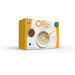 Toto Instant Almond Quinoa Chips / Five Grain Quinoa Chips (168g-6 packs x28g)