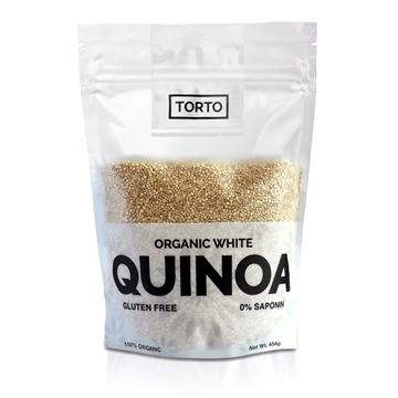 Picture of Torto Organic White Quinoa 454gm