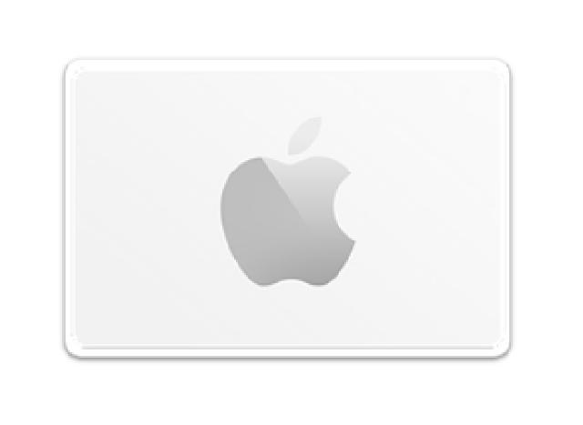 $2,000 Apple 禮品卡
