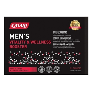 Picture of Catalo Men's Vitality & Wellness Booster 21 Packets