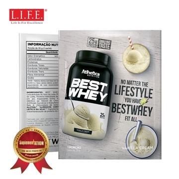 Picture of BEST WHEY Protein Powder (Vanilla Cream) 35g