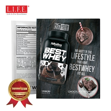 Picture of BEST WHEY Protein Powder (Chocolate Brownie) 40g