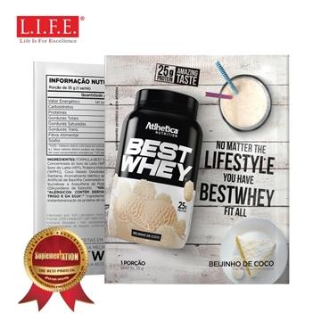 圖片 BEST WHEY 至尊乳清蛋白粉 (香滑椰子奶)(獨立包裝)35克/包
