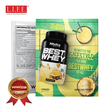 Picture of BEST WHEY Protein Powder (Pineapple Frappe) 35g