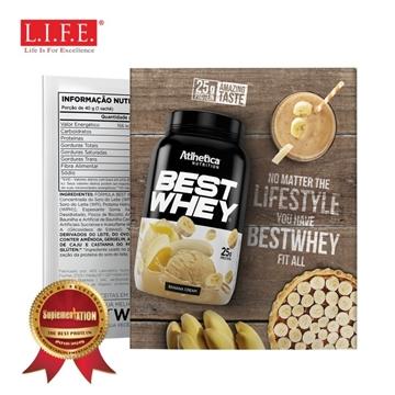 圖片 BEST WHEY 至尊乳清蛋白粉 (香蕉忌廉)(獨立包裝) 40克/包