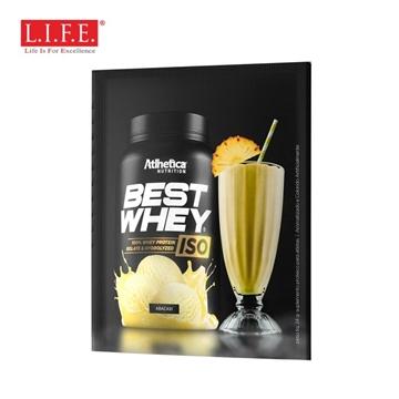 图片 BEST WHEY ISO 分离+水解蛋白粉(菠萝冰) (独立包装) 24克/包