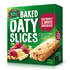 Picture of Mother Earth New Zealand Baked Oaty Slices Raspberry & White Chocolate 240gm