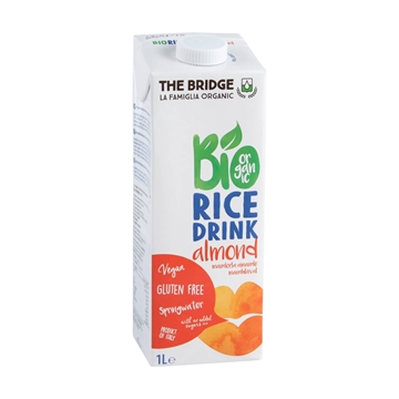 Picture of The Bridge Bio Rice Drink Almond 1L