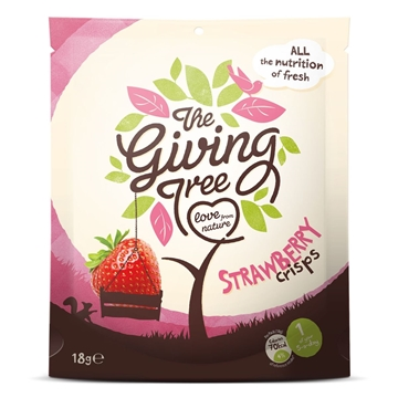 Picture of Giving Tree Freeze Dried Strawberries Crisps 18g