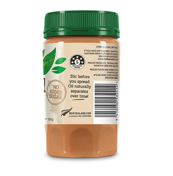 Picture of Mother Earth New Zealand Peanut Butter Chia Seeds 380gm