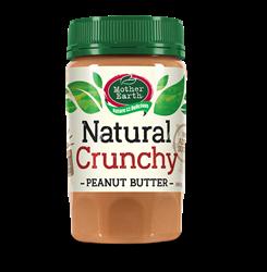 Mother Earth New Zealand Peanut Butter Crunchy (No added Salt & Sugar)  380gm