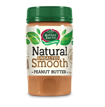 Picture of Mother Earth New Zealand Peanut Butter Smooth (No added Salt & Sugar) 380gm