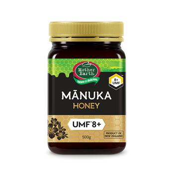 圖片 Mother Earth媽媽農場紐西蘭麥蘆卡蜂蜜UMF™ 8+ (500克)