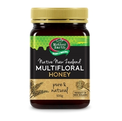 Mother Earth New Zealand Multifloral Honey 500gm
