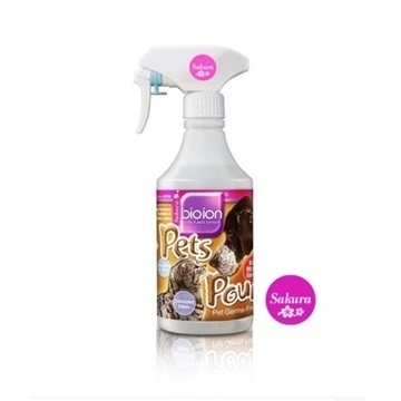 Picture of Bioion Pets Pounce Pet Sanitizer 500ml (Sakura)
