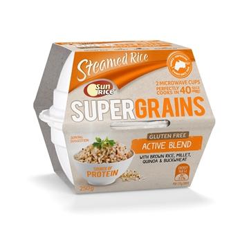 图片 SunRice阳光牌即食糙米饭(糙米+小米+藜麦+荞麦) 250克有效期至2021年11月20日