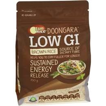 Picture of SunRice Australian Low GI Brown Rice 750gm