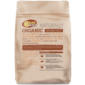 Picture of SunRice Australian Organic Brown Rice 750gm