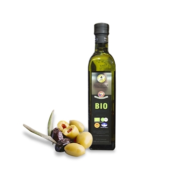 Picture of Earth Harvest organic virgin cold-pressed olive oil (for high-temperature cooking) 500ml