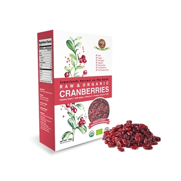 Picture of Earth Harvest Raw Organic Cranberries 150g