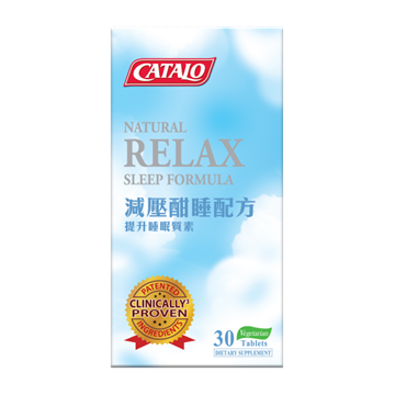 Picture of CATALO Natural Relax Sleep Formula 30 Tablets